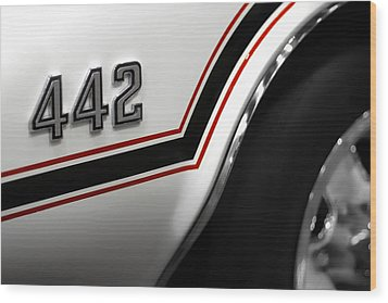 1970 Olds 442 Indy 500 Pace Car Wood Print by Gordon Dean II