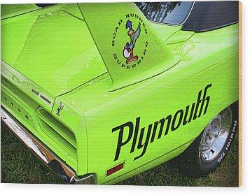 1970 Plymouth Superbird Wood Print by Gordon Dean II
