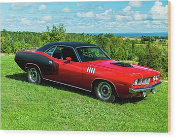 1971 Plymouth Wood Print by Performance Image