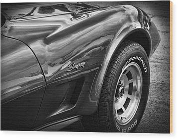 1973 Chevrolet Corvette Stingray Wood Print
