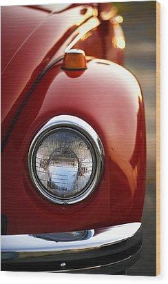 1973 Volkswagen Beetle Wood Print by Gordon Dean II