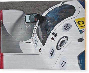 1987 Porsche 962c Wood Print