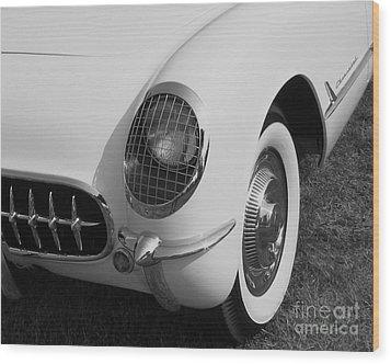 1953 Corvette Wood Print