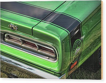 1969 Dodge Coronet Super Bee Wood Print by Gordon Dean II