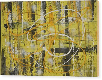 Abstract_untitled Wood Print
