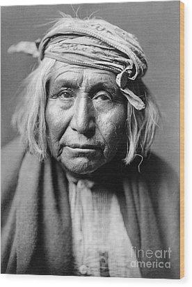 Apache Man, C1906 Wood Print by Granger