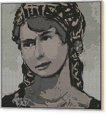 Artist Milka Tsenova Wood Print by Pemaro