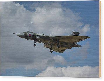 Wood Print featuring the photograph Avro Vulcan B2 Xh558 by Tim Beach