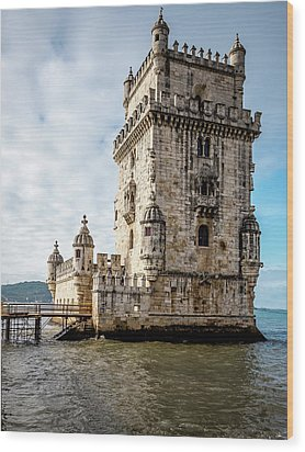 Belem Tower Wood Print