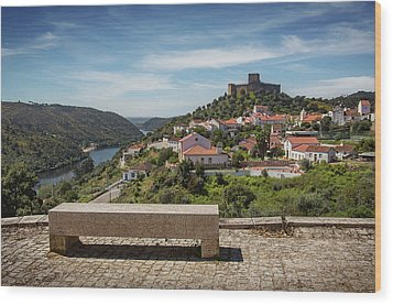 Wood Print featuring the photograph Belver Landscape by Carlos Caetano