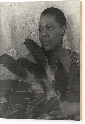 Bessie Smith, American Blues Singer Wood Print by Everett