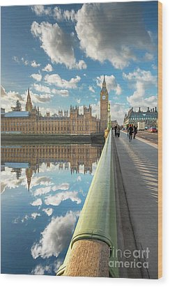 Wood Print featuring the photograph Big Ben London by Adrian Evans