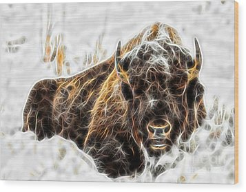 Bison Collection Wood Print