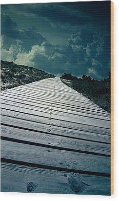 Boardwalk Wood Print by Joana Kruse