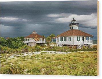 Boca Grande Fl Wood Print