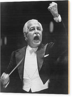 Boston Pops Orchestra Conductor, Arthur Wood Print by Everett