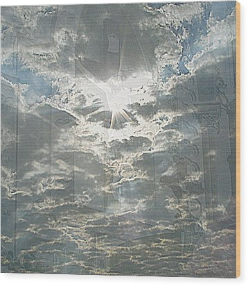 Bright Morning Star Wood Print