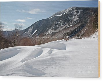 Crawford Notch State Park  - White Mountains New Hampshire  Usa Wood Print by Erin Paul Donovan