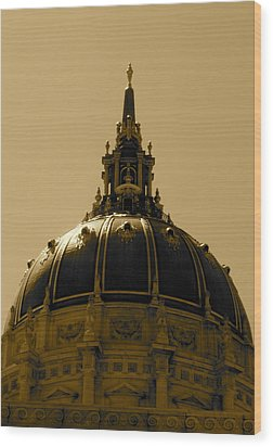 Wood Print featuring the photograph Cupula by Fanny Diaz
