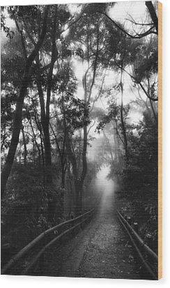 Wood Print featuring the photograph Dejavu by Hayato Matsumoto