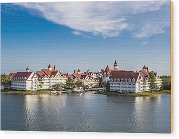 Disney's Grand Floridian Resort And Spa Wood Print