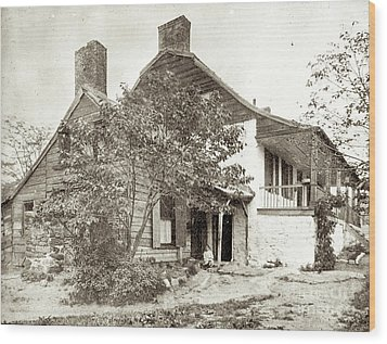 Wood Print featuring the photograph Dyckman House by Cole Thompson