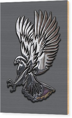 Eagle Collection Wood Print