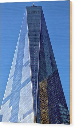 Wood Print featuring the photograph Freedom Tower by Mitch Cat
