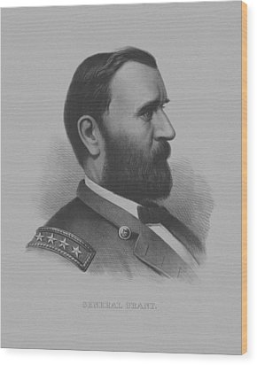General Grant Wood Print by War Is Hell Store