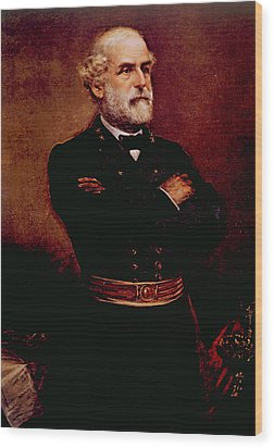 General Robert E. Lee 1807-1870 Wood Print by Everett
