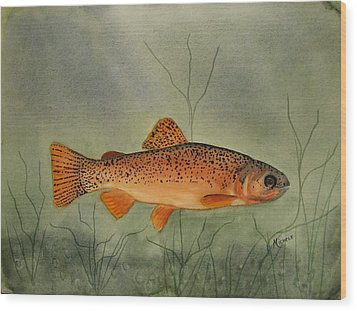 Gila Trout Wood Print