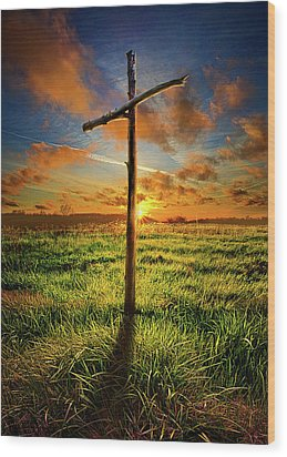 Wood Print featuring the photograph Good Friday by Phil Koch
