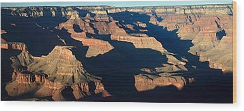 Grand Canyon National Park At Sunset Wood Print by Pierre Leclerc Photography