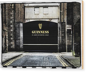 Guinness Wood Print by David Harding