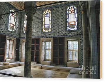 Wood Print featuring the photograph Inside The Harem Of The Topkapi Palace by Patricia Hofmeester