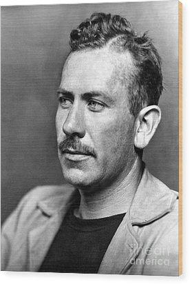 John Steinbeck (1902-1968) Wood Print by Granger