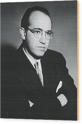 Jonas E. Salk 1914-1995, American Wood Print by Everett