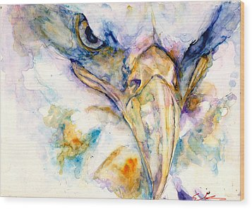 Marie's Eagle Wood Print