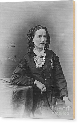 Mary Edwards Walker Wood Print by Granger