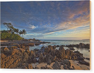 Maui Wood Print by James Roemmling
