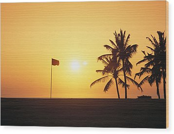 Mauna Kea Beach Resort Wood Print by Carl Shaneff - Printscapes