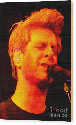 Mike Gordon Wood Print
