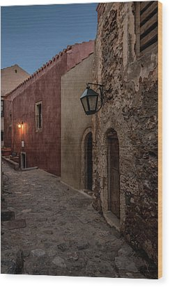 Monemvasia / Greece Wood Print by Stavros Argyropoulos