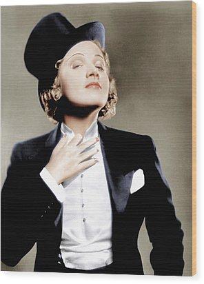 Morocco, Marlene Dietrich, 1930 Wood Print by Everett