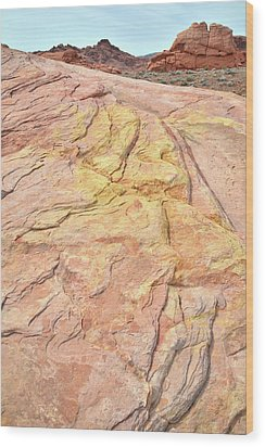 Wood Print featuring the photograph North Valley Of Fire by Ray Mathis