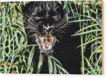 Panther Collection Wood Print