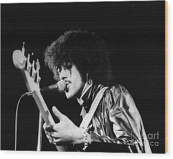 Phil Lynott Wood Print