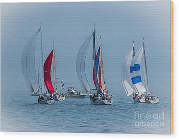 Port Huron To Mackinac Race 2015 Wood Print