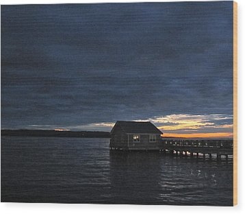 Redondo Pier Wood Print by Sean Griffin