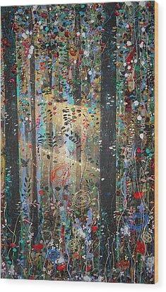 Risen Wood Print